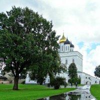 Троицкий собор Псковского Кремля. Отражение. :: Fededuard Винтанюк
