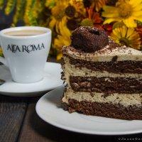 Утренний кофе и торт :: Лидия Филатова