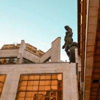 Одна из статуй РАН :: Julia Tyagunova
