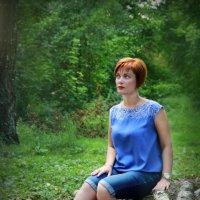 В лесу :: Елена Волгина