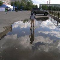 Какое зеркало большое! :: Виктор Козусь