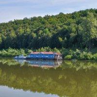 Пристань на реке Белой :: Сергей Тагиров