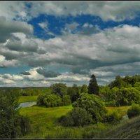 пейзаж с облаками :: Дмитрий Анцыферов