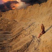 Закат в песках :: Женя Рыжов