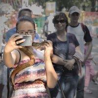 ... селфи со змеей :: Виталий Pozitiff