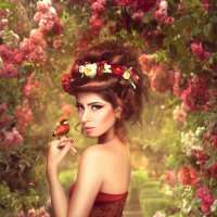 Flower garden :: Irina Safronova