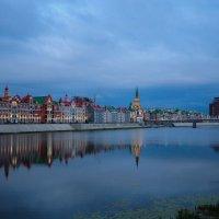 Европейская архитектура Йошкар-Олы. Поздний вечер. :: Сергей Тагиров