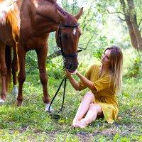 с конем :: Екатерина Кузнецова