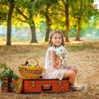 Мила и кролик :: Кристина Волкова(Загальцева)
