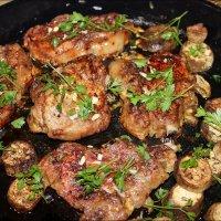 Мясо с духовки с петрушкой :: Татьяна Пальчикова