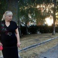 Дама с собачкой :: Нина Корешкова
