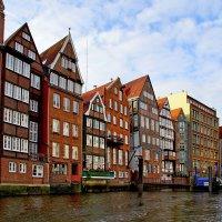 Жилые дома на гамбургских каналах :: Денис Кораблёв