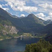 Geirangerfjord again :: Roman Ilnytskyi