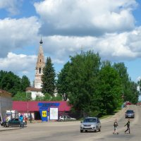 Старый центр г. Нерехта осн. 1214 :: Святец Вячеслав