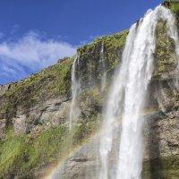 Waterfall Seljalandsfoss.Iceland :: klara Нейкова