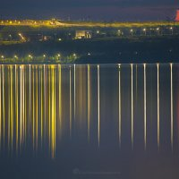 Братская ГЭС ночью :: Фотостудия Объективность
