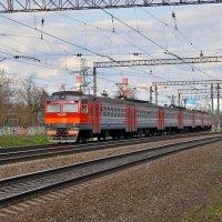 Электропоезд ЭД2Т-0045 :: Денис Змеев