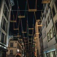 Swings at  the night :: Alena Kramarenko
