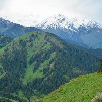 горы в тучках :: Горный турист Иван Иванов