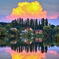 облака заката :: юрий иванов