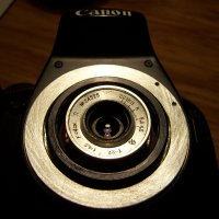 """Т-22"" в камере  Canon EOS 1100D :: Владимир  Зотов"
