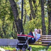 Материнское счастье. :: юрий Амосов