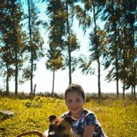 Собака-друг человека :: Ирина