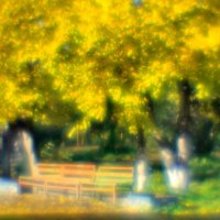 парк осенью :: Гриша  6х9 или 9х12