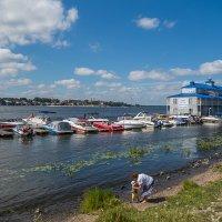 Случай на берегу :: Сергей Цветков