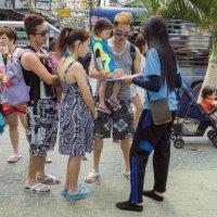 Паттайя. Китайские туристы :: Владимир Шибинский