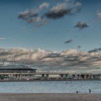 Санкт-Петербург, строящийся стадион :: Владимир Горубин