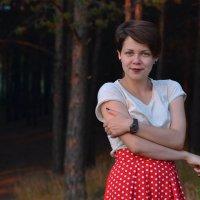 В темно-синем лесу.... :: Лариса Красноперова