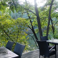 Кафешка в парке :: Лариса Коломиец