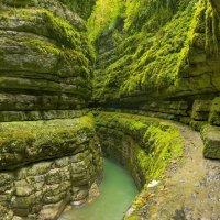 Хашупсинский каньон, Абхазия :: Кирилл Малов
