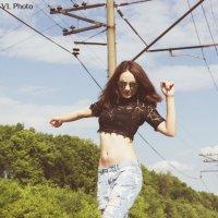 танцы на рельсах :: Виктория Левина