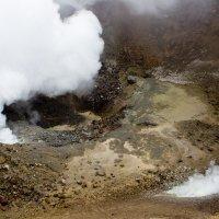 Действующая воронка вулкана Мутновский. :: Олег Казаков