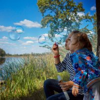 мыльные пузыри :: Анна Скиргика