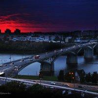 Сентябрьский закат в городе NN :: Denis Makarenko