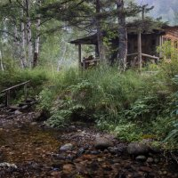 баня у ручья :: сергей агаев