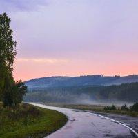 Утро в дороге. :: юрий Амосов