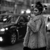 New York City Night Street ... :: Alex Kulnevsky