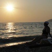 Закат в Абхазии :: Комаровских Владимир