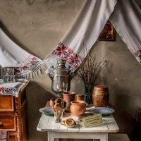 Монастырская трапеза..Музей истории Алтайской духовной миссии :: Анна Печкурова