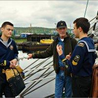 Россия - Норвегия встреча моряков... :: Кай-8 (Ярослав) Забелин