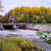 Плотина на реке Солза :: Елена Третьякова