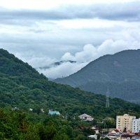 облака в горах :: Сергей