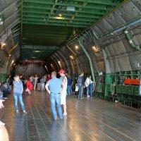 Грузовая кабина самолета Ан-124-100 «Руслан» :: Анастасия Яковлева