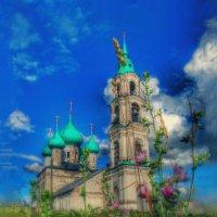 Ярославская область Церковь Воскресения в Левашово :: Natalia Mihailova
