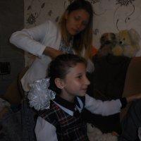-Ну что, сестричка, готова к школе ? :: Виталий Рабчак