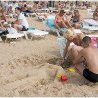 Песчаные скульптуры :: Василий Каштанюк